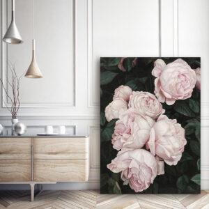 Tranh hoa hồng treo tường đẹp