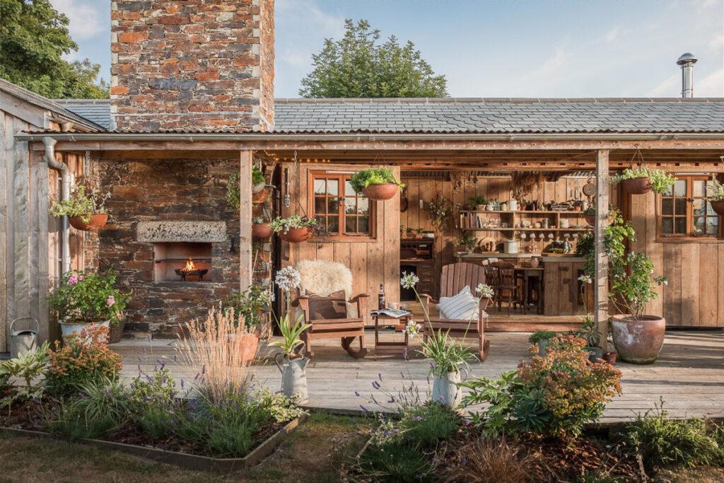 Nhà Gỗ Đep, Phong cách nhà gỗ, decor nha gỗ