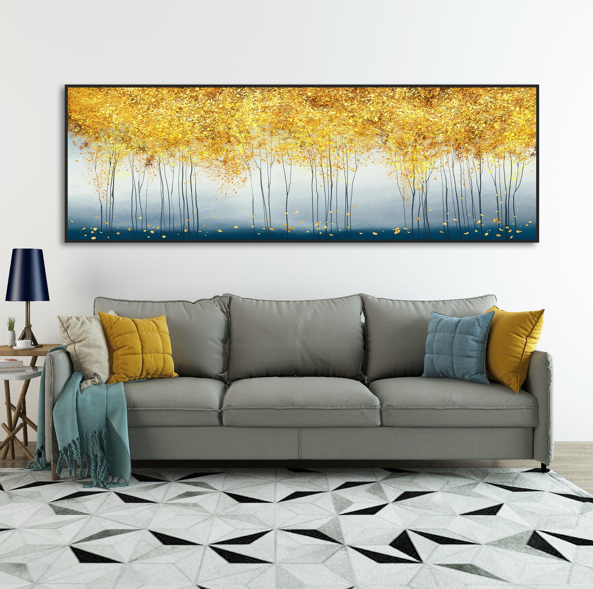 Tranh canvas treo phòng khách chung cư